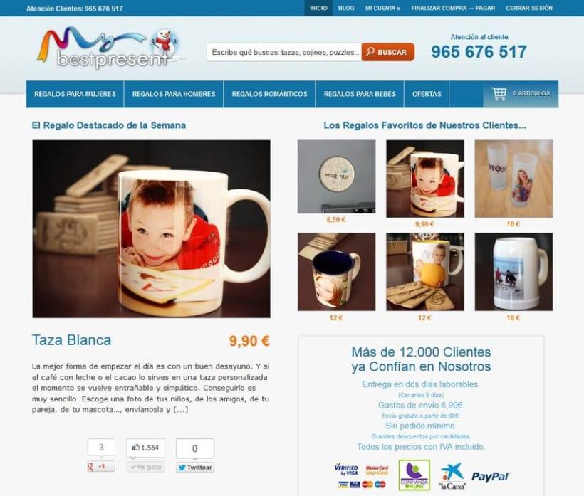 Tienda online de regalos 2