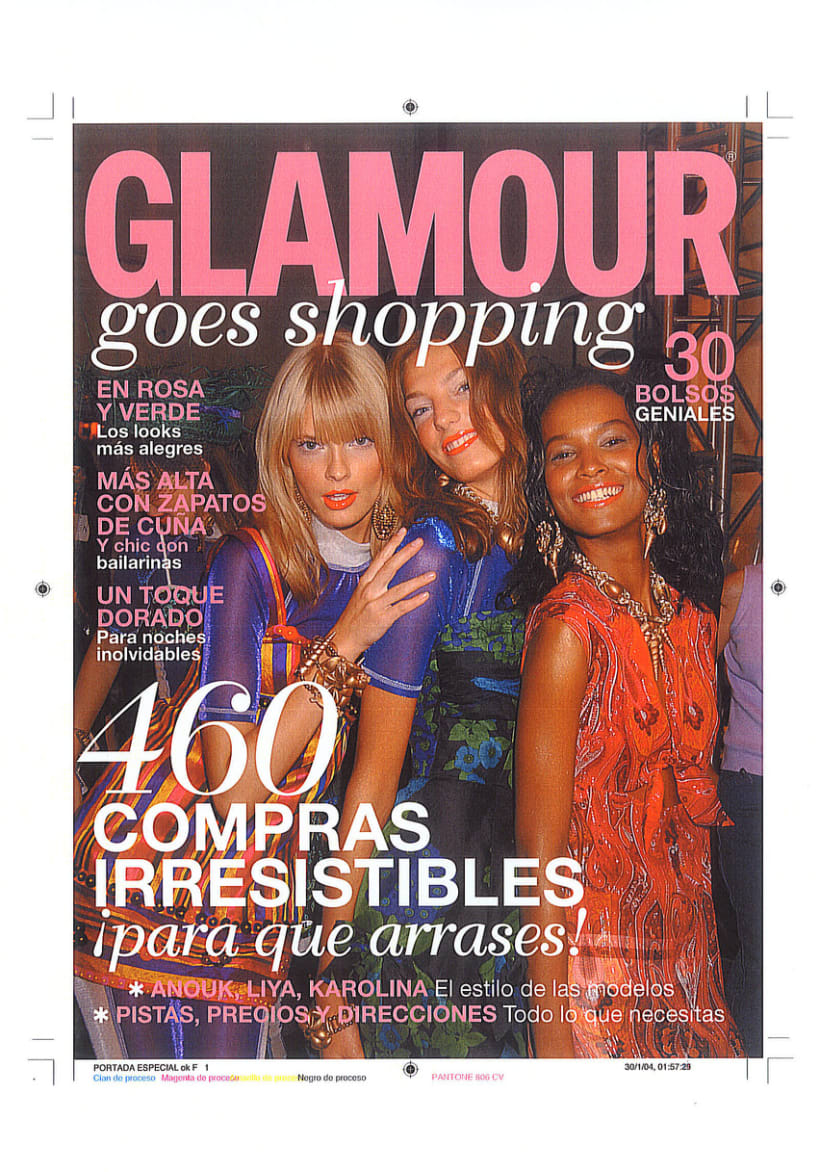 GLAMOUR ESP. GOES SHOPPING 1