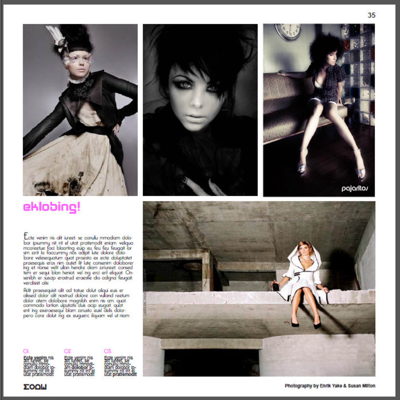 Editorial & Advertising 19