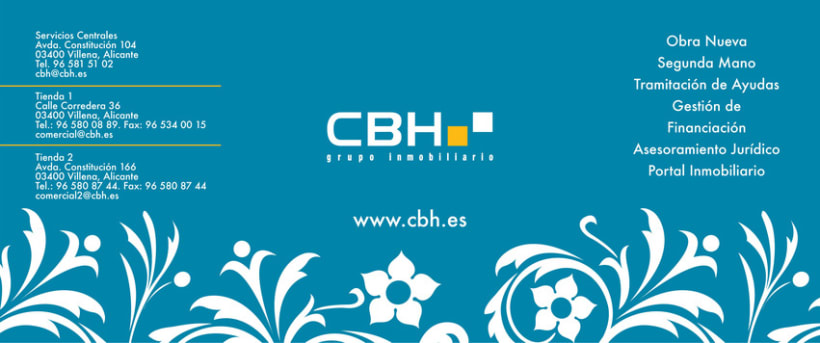 CBH - Christmas Card & Advertisement 3