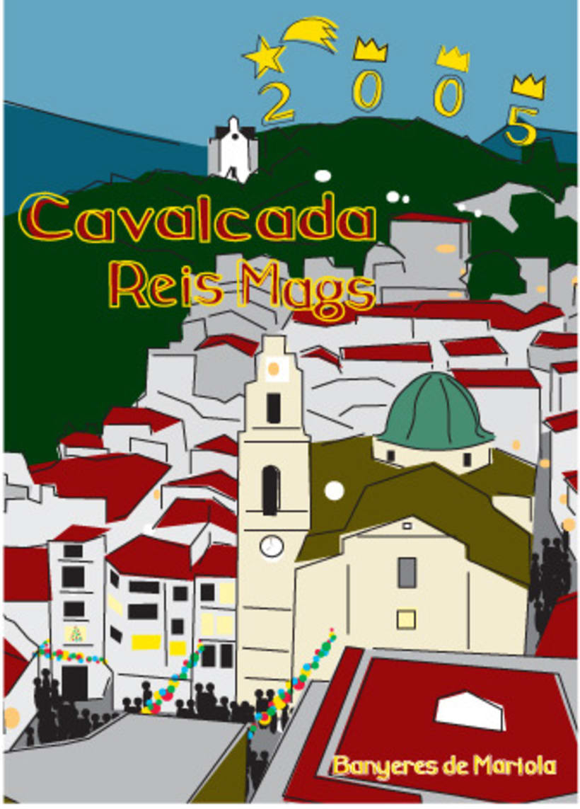 Cartel ganador Cabalgata Reyes Magos 2005 1