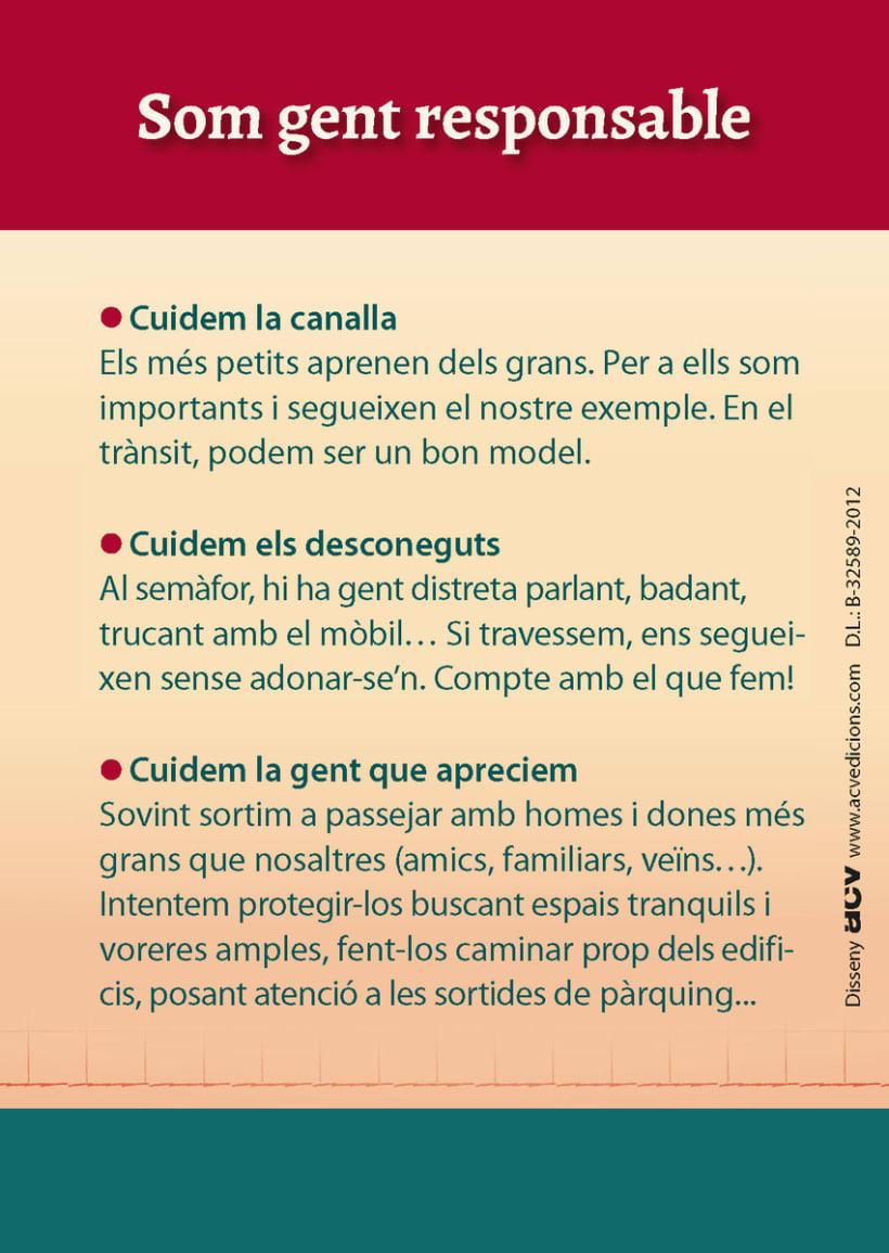 EDITORIAL - Libreto Grans Vianants (proyecto gráfico, concepto de las ilustraciones y maquetación) 5