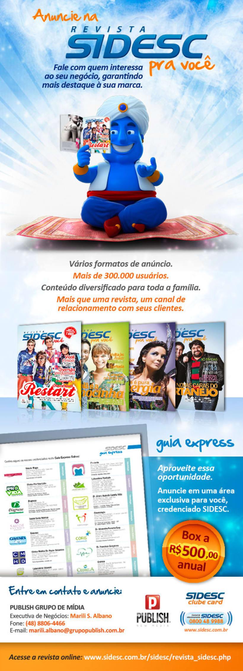 PUBLICIDAD - Anuncios, mails, banner digital, dípticos, trípticos, pdv y carteles. 0