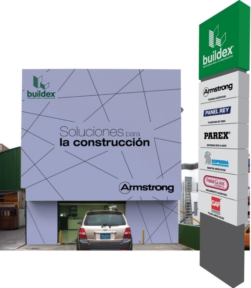 Tótem Buildex - foto montaje 4