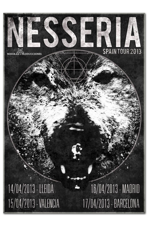 NESSERIA | tour poster 1
