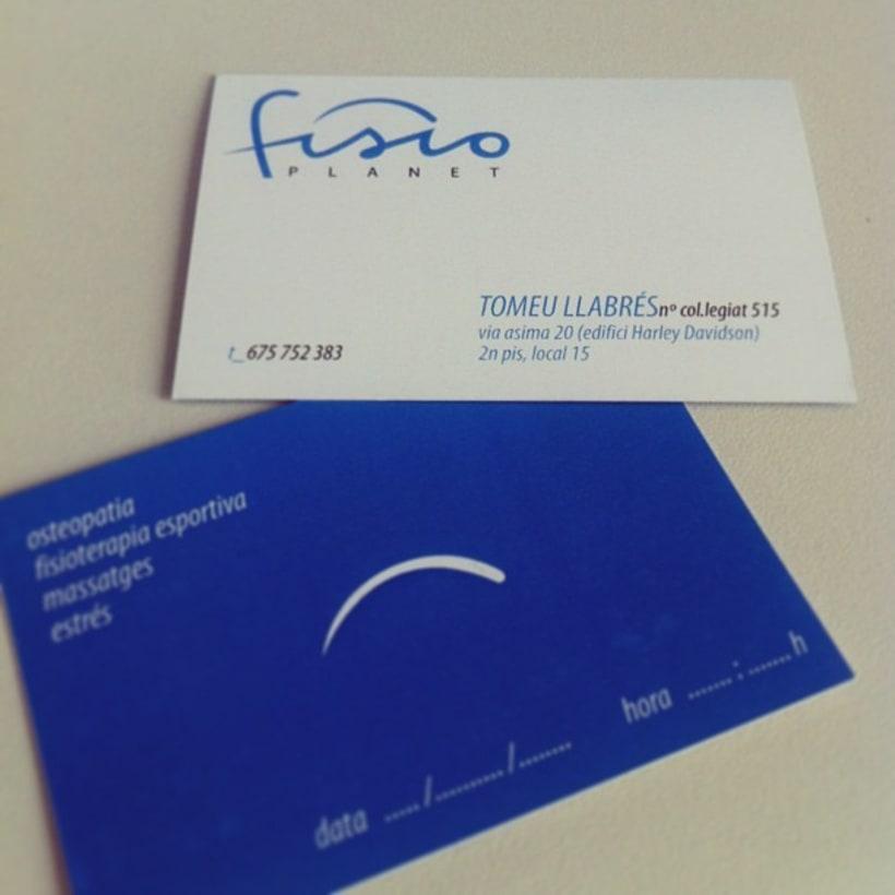 Naming+Branding Fisioplanet 5
