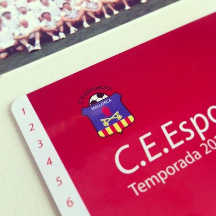 Rebranding C.E.Esporles+Carnets de Socio 6