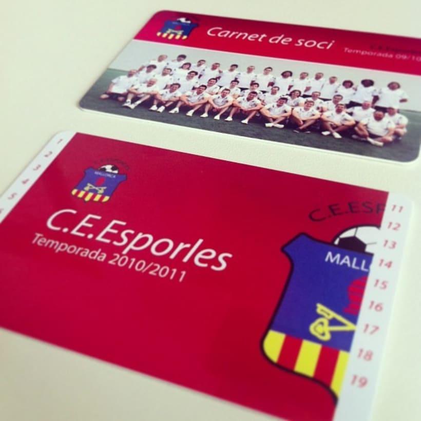 Rebranding C.E.Esporles+Carnets de Socio 7