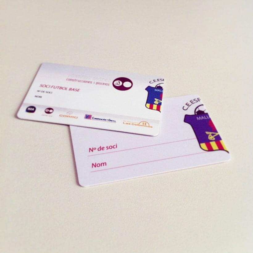 Rebranding C.E.Esporles+Carnets de Socio 8