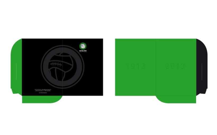 Propuesta Logotipo Centenario Racing Santander 4