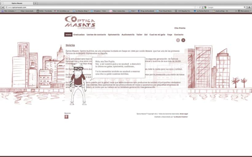 Web Optica Masats 6