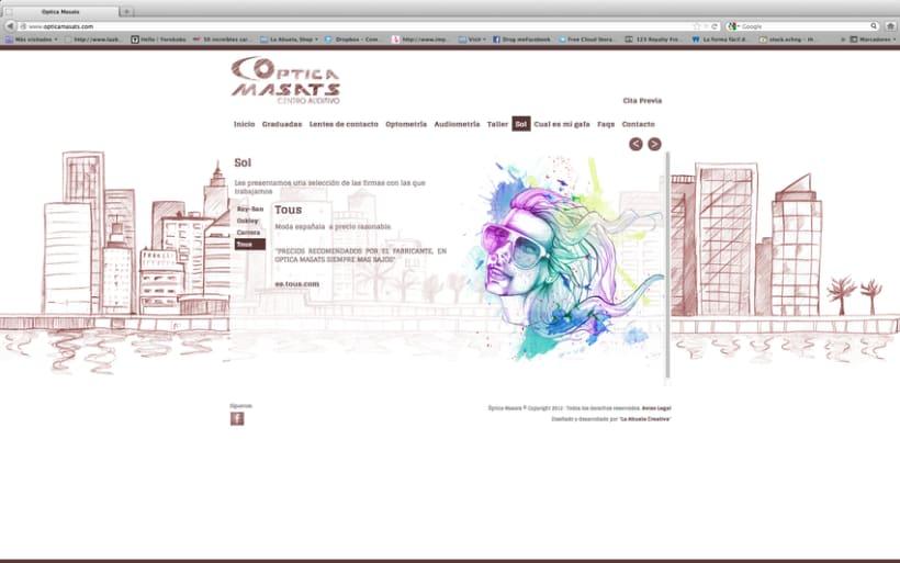 Web Optica Masats 11