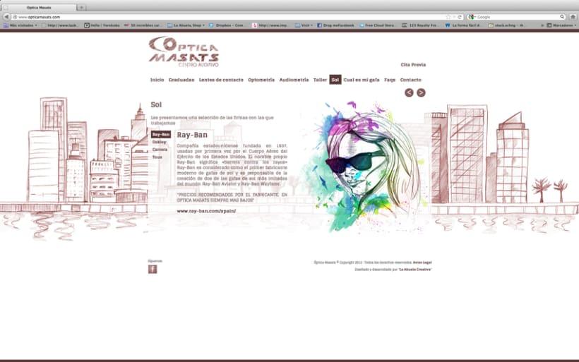 Web Optica Masats 10