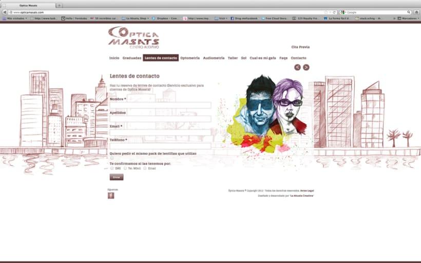 Web Optica Masats 9