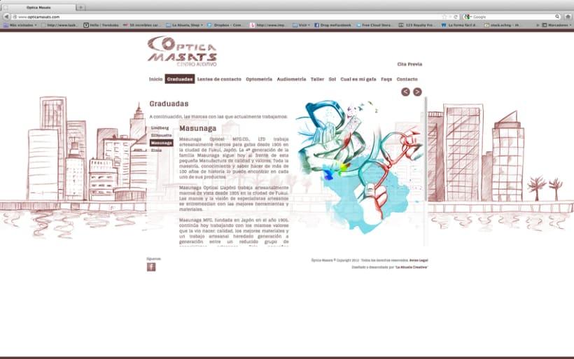 Web Optica Masats 8