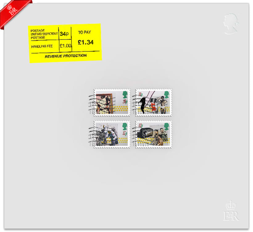 Royal Mail Stamps 2