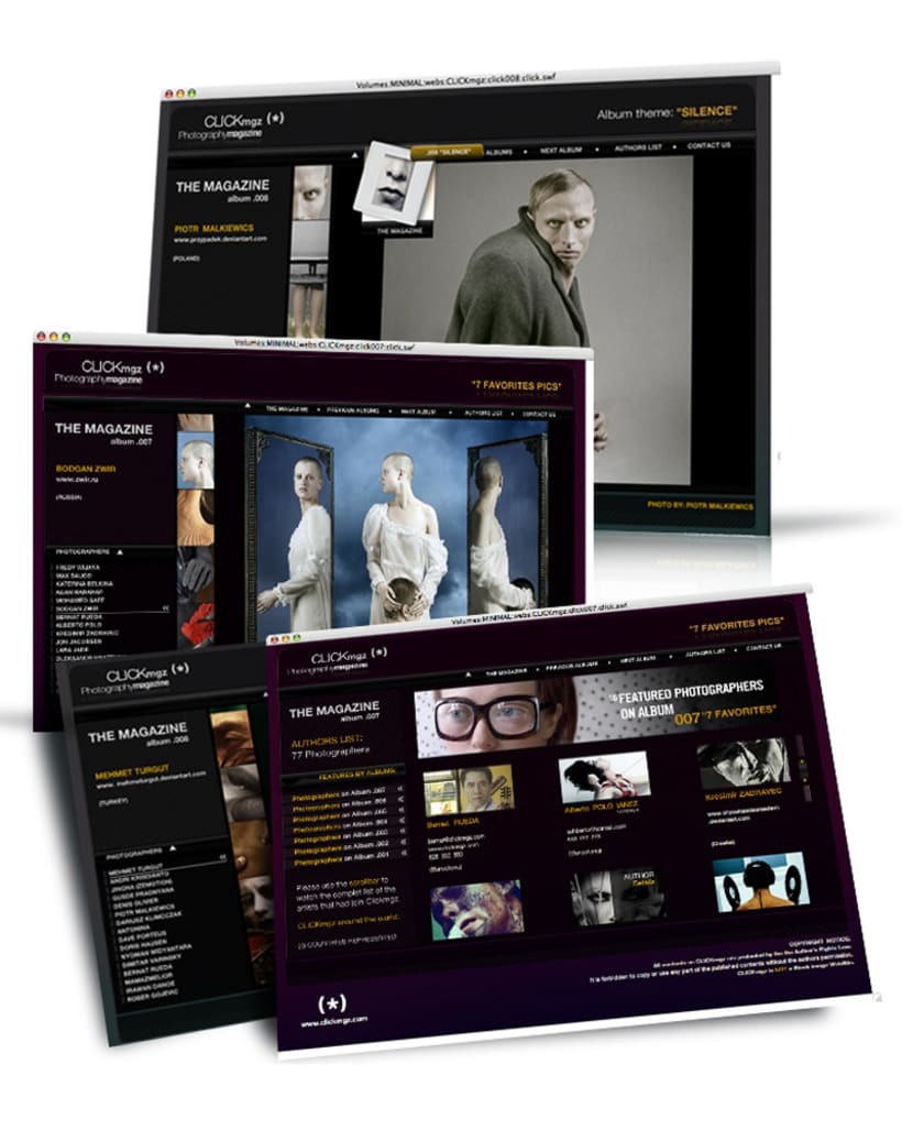 Web design, interface design 12