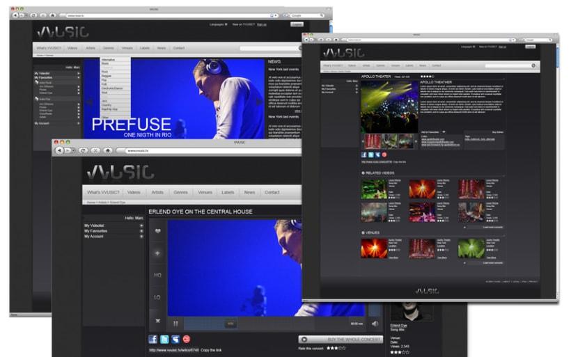 Web design, interface design 10