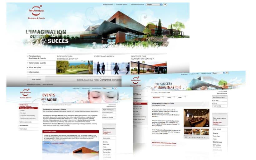 Web design, interface design 5