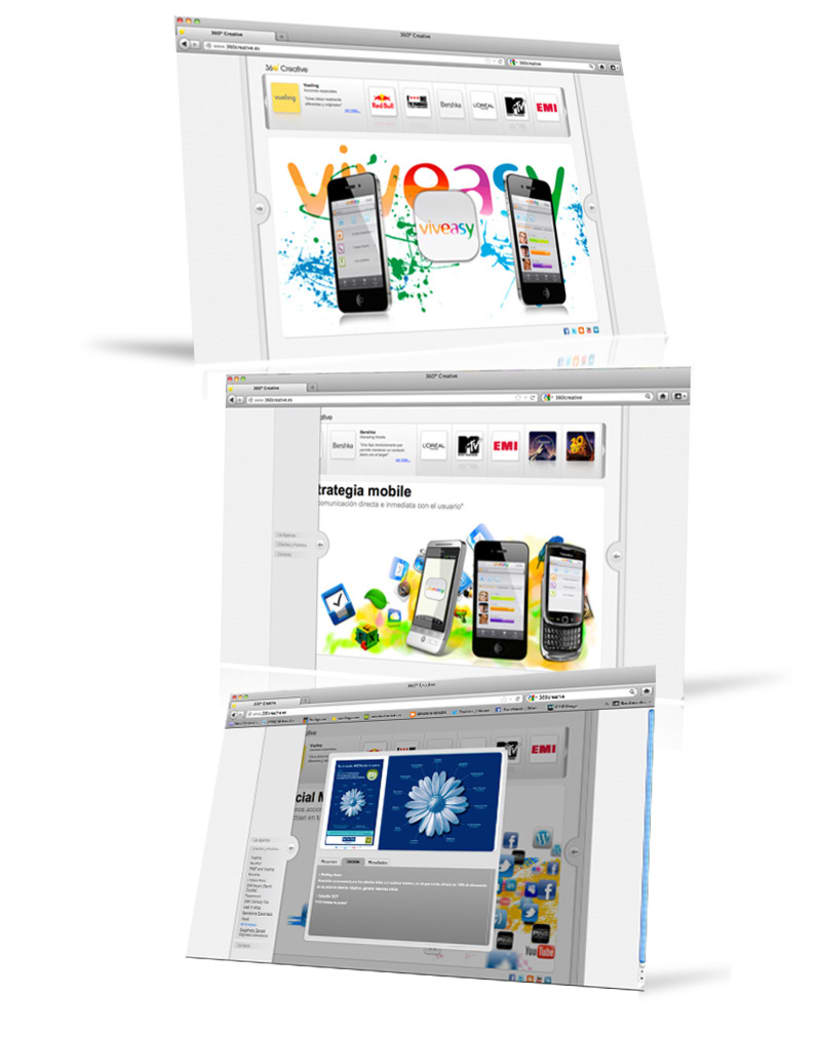 Web design, interface design 7