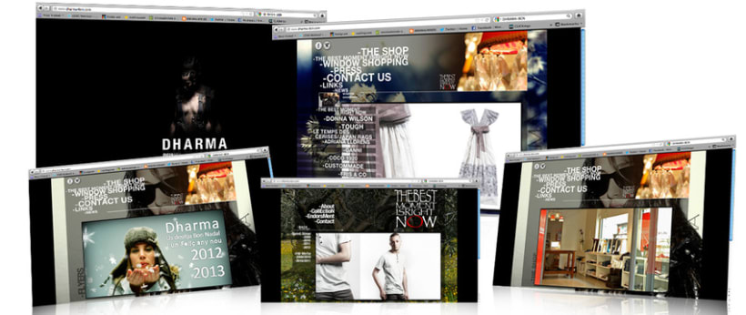 Web design, interface design 3