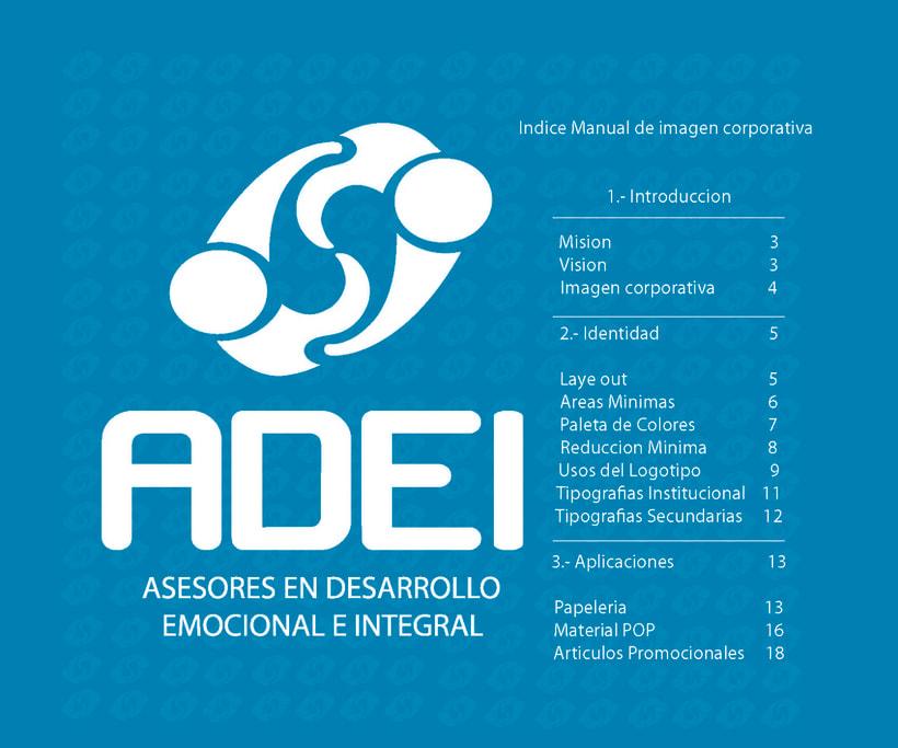 Identidad Corporativa ADEI 1