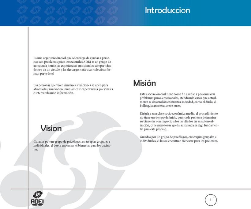 Identidad Corporativa ADEI 2