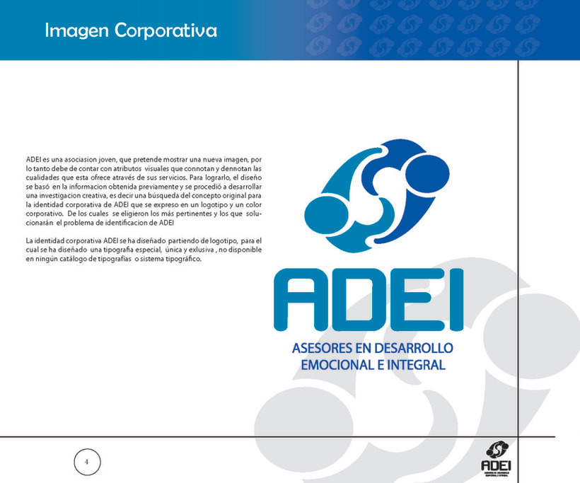 Identidad Corporativa ADEI 3