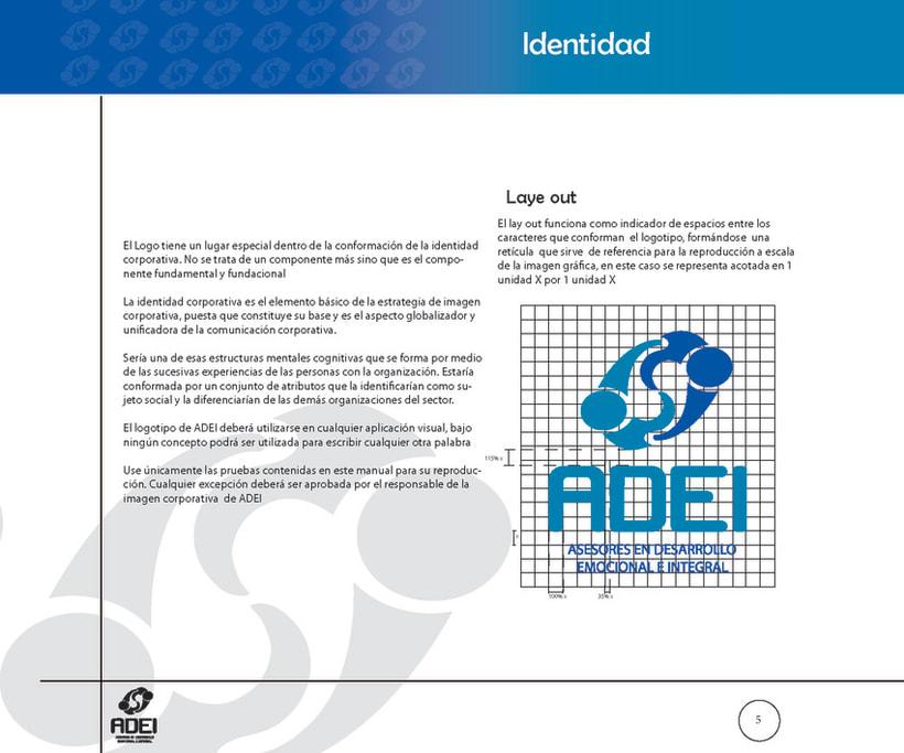Identidad Corporativa ADEI 4