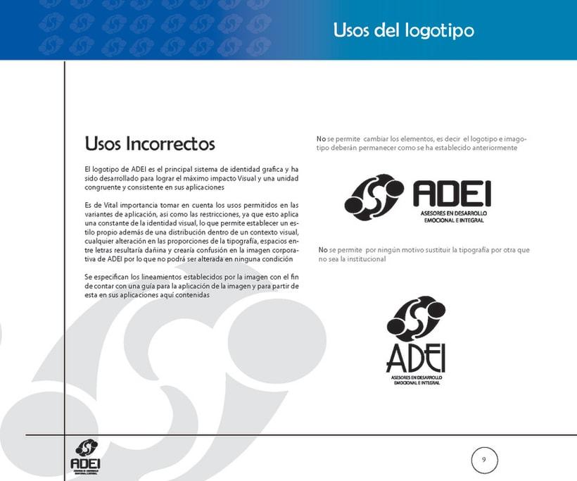 Identidad Corporativa ADEI 8