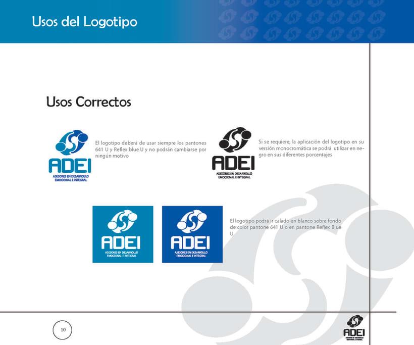 Identidad Corporativa ADEI 9