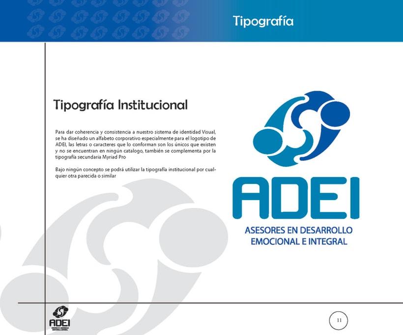 Identidad Corporativa ADEI 10