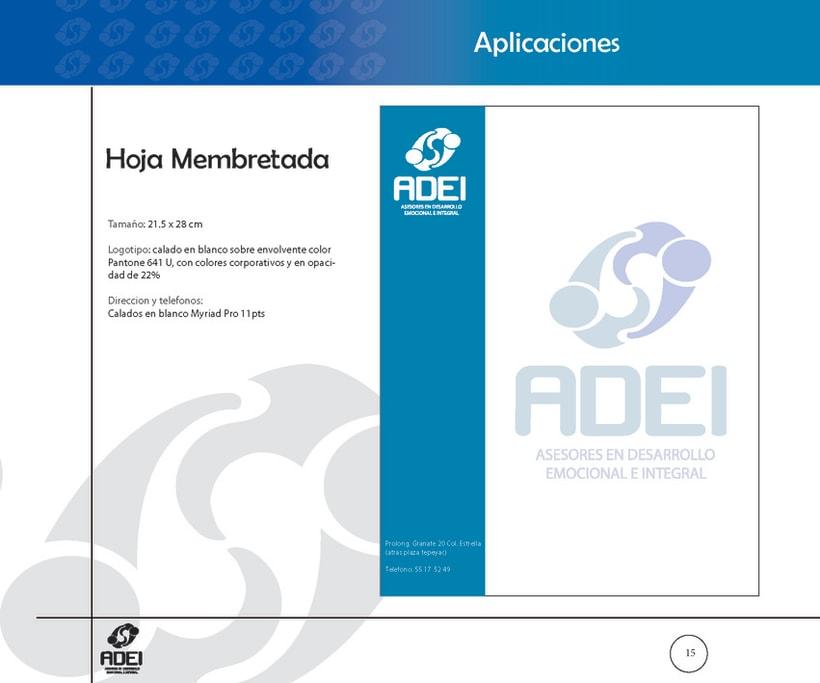 Identidad Corporativa ADEI 14