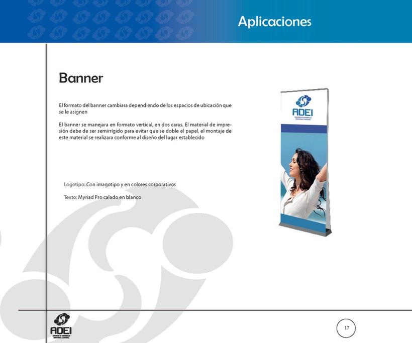 Identidad Corporativa ADEI 16