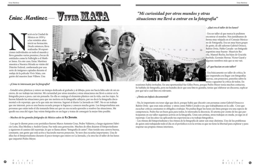 Bulbo Magazine (Diseño Editorial) 3
