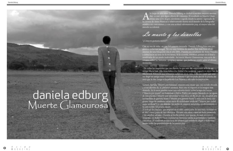 Bulbo Magazine (Diseño Editorial) 4