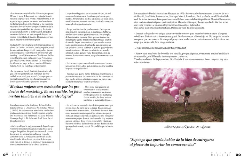 Bulbo Magazine (Diseño Editorial) 5