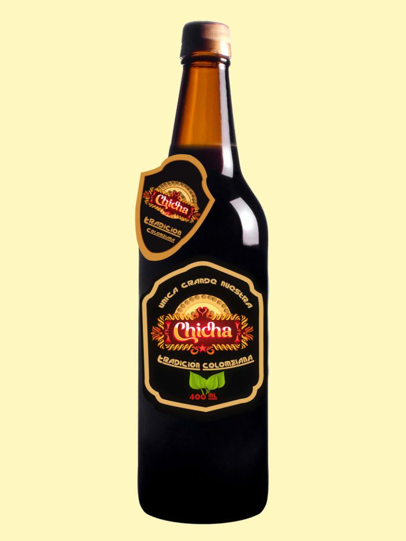 Propuesta Logo y marca bebida  2