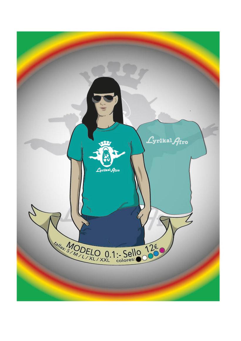 Camisetas Lyrikal Afro 9