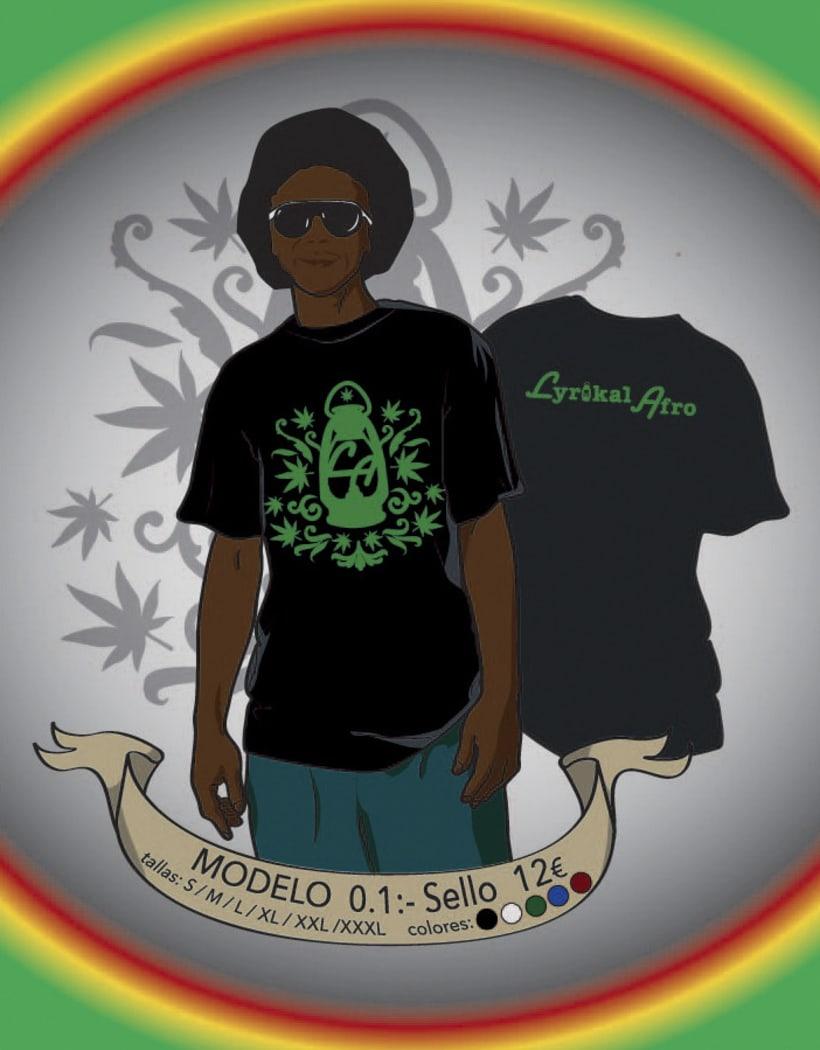 Camisetas Lyrikal Afro 7