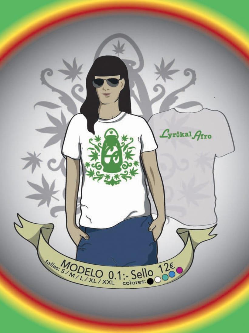 Camisetas Lyrikal Afro 6