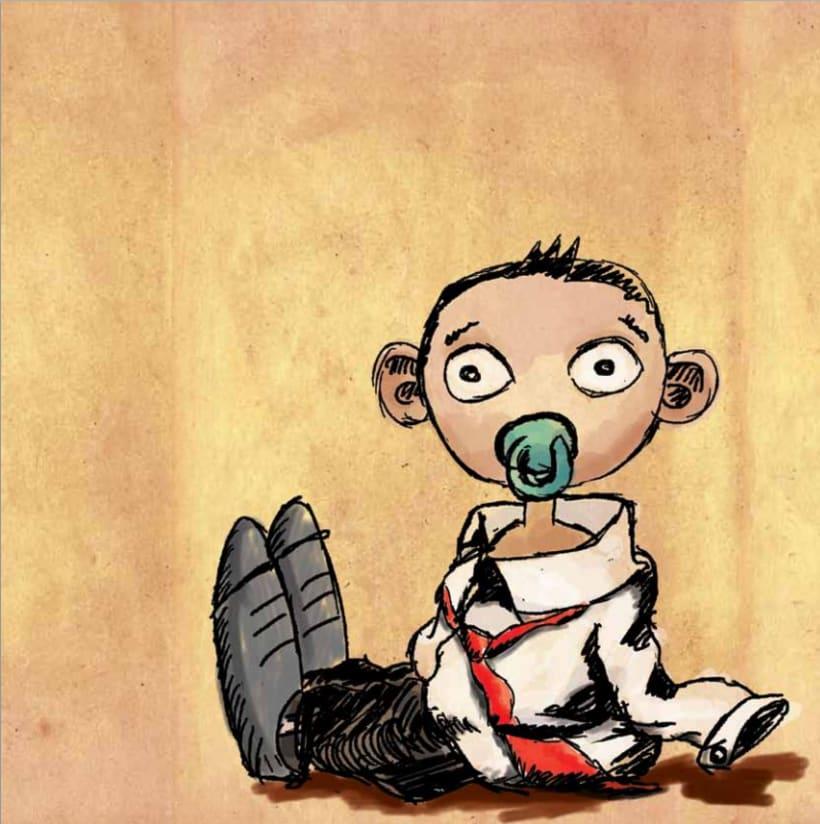 Ilustración infantil para Sapos y Princesas 4