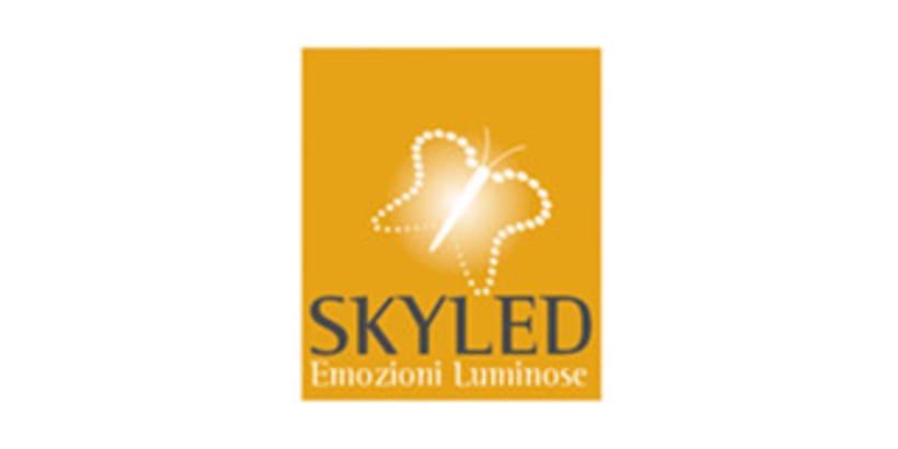 Logotipo para firma de iluminación. 1