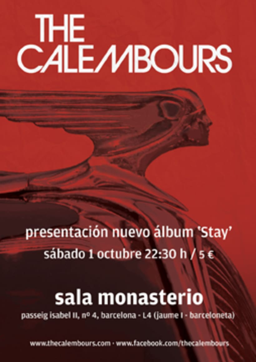 Flyer y poster The Calembours 2