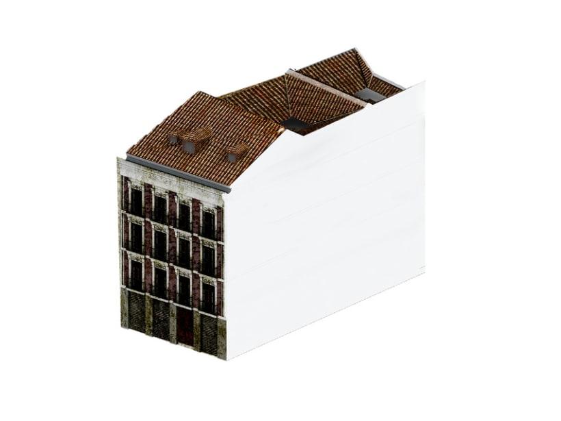 REHABILITACIÓN edificio de viviendas en ATOCHA 10