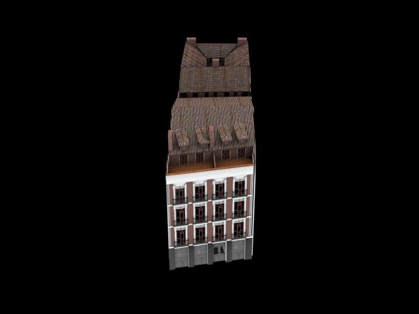 REHABILITACIÓN edificio de viviendas en ATOCHA 12