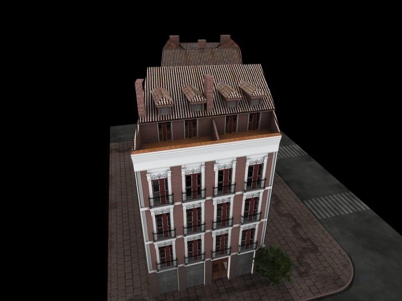 REHABILITACIÓN edificio de viviendas en ATOCHA 14