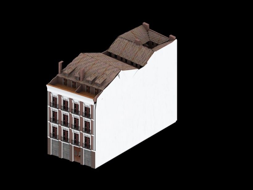 REHABILITACIÓN edificio de viviendas en ATOCHA 15