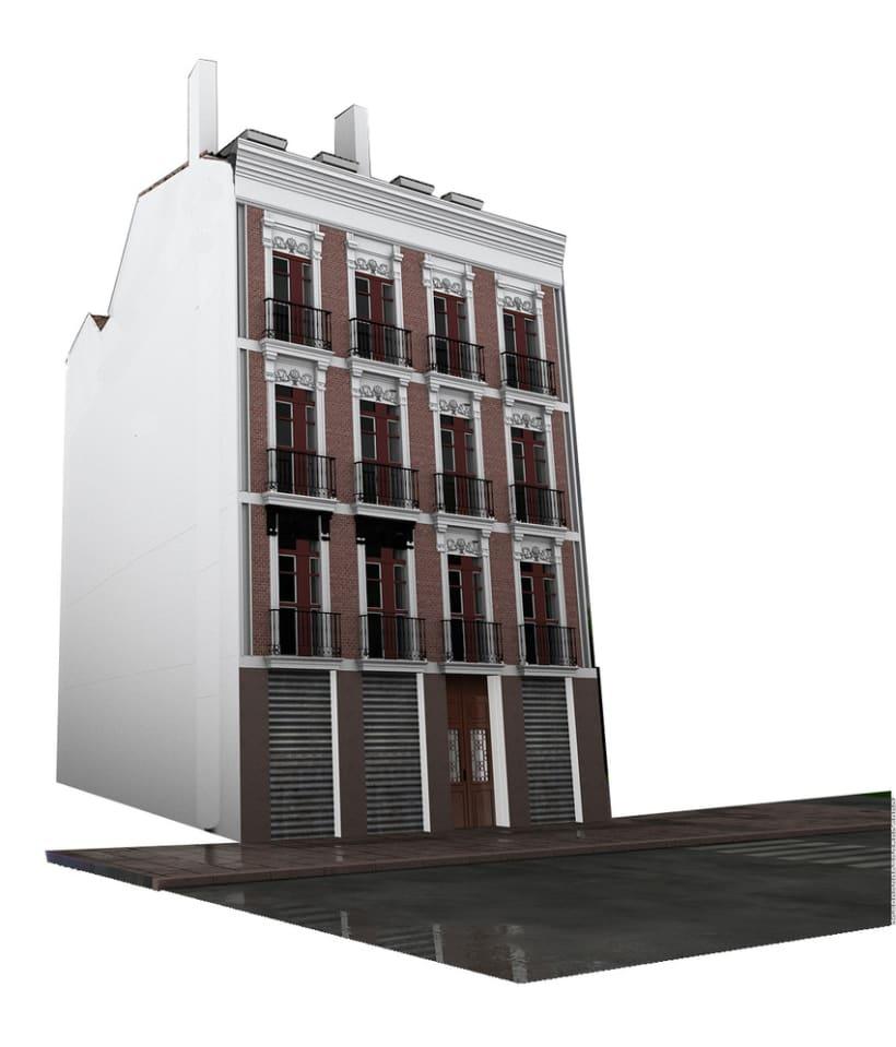 REHABILITACIÓN edificio de viviendas en ATOCHA 16