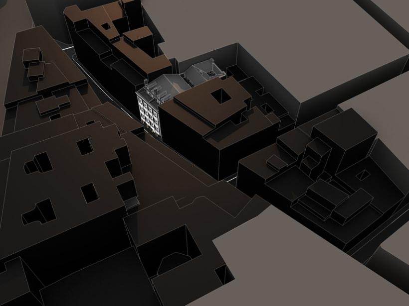 REHABILITACIÓN edificio de viviendas en ATOCHA 4